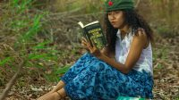 Foto karya fotografer Stracky Yali dalam proyek fotografi kampanye literasi dan budaya membaca buku. – Dok. Stracky Yali
