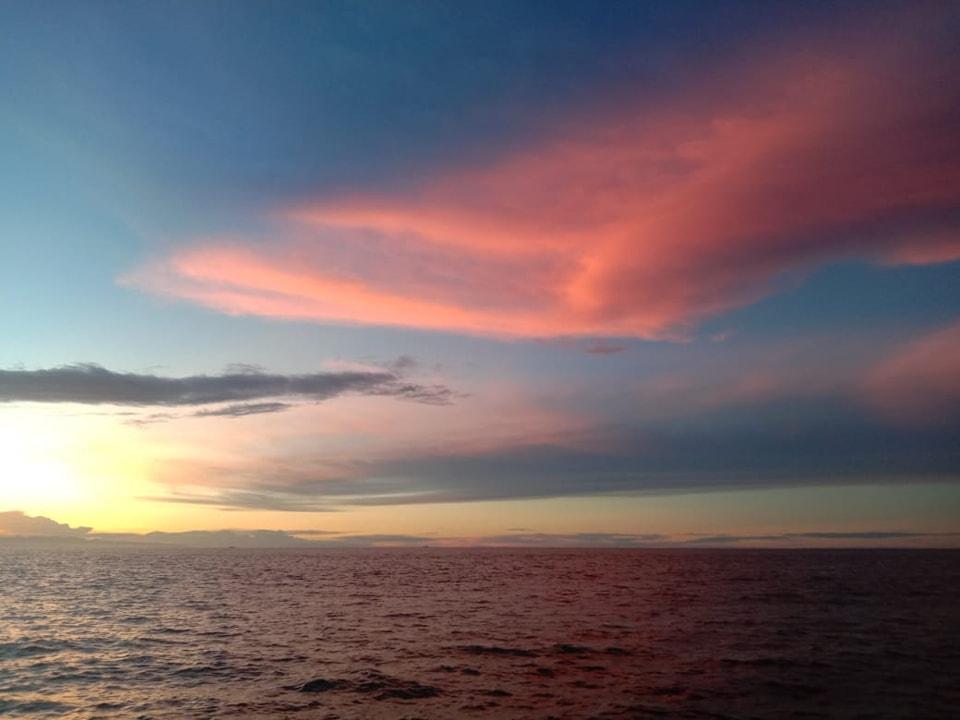 Senja di tepi salah satu pantai di Nabire - Philemon Keiya For Kosapa