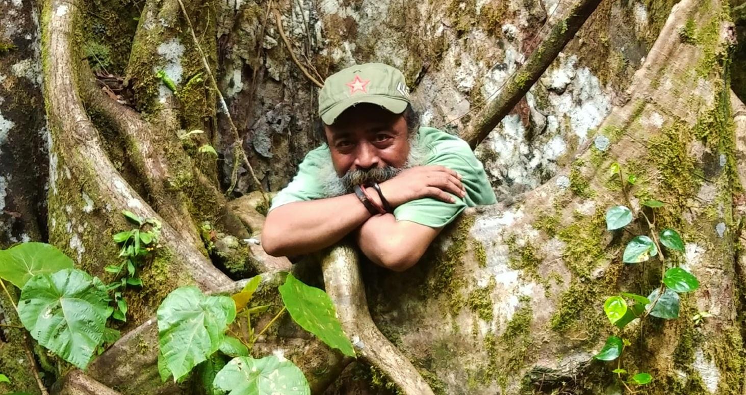 Pendiri Komunitas Sastra Papua Iriandi Tagihuma (Ibiroma Wamla) -