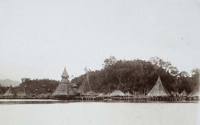 Kampung Tobati tahun 1903, foto: KILTV