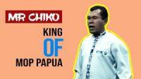 Mr Chiko, tampil di Papua TV dalam acara Mr Chiko Show