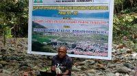 Koordinator Komunitas Sastra Papua Saat membekali Komunitas Meebersaudara - Doc. Komunitas Meebersaudara