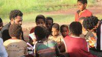 Aktivitas kelompok Belajar Gerakan Papua Mengajar (GPM)