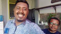Koordinator Kosapa dan Jurnalis Kompas Fabio Lopes satu waktu di Nabire - Doc. Kosapa