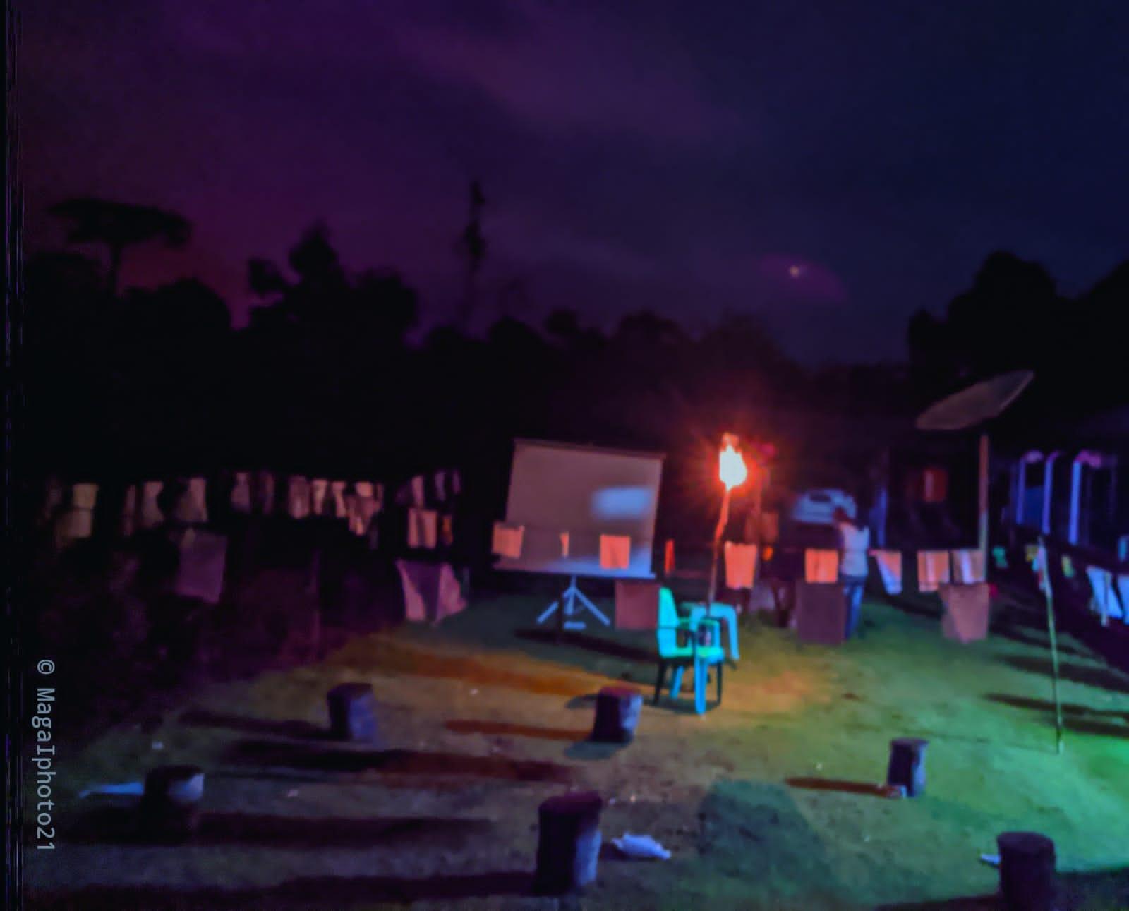 Sejumlah anak-anak Papua gelar Jemuran Puisi di Nabire