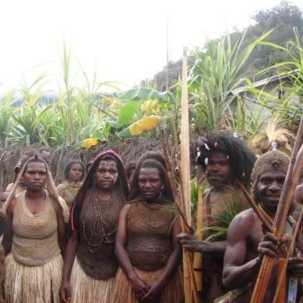 Pakaian Adat Suku Mee Paniai (Foto:Dok.PapuaLives)